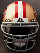 SAN FRANCISCO 49ers Schutt ROPO-DW Football Helmet Facemask/Faceguard (GRAY)