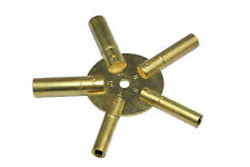 Proops 3-11 Brass Clock Spider Keys Winding Keys Key J1138