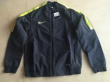 Nike Mens Black Select Reversible Woven Jacket Coat Zip Up Casual Large, BNWT