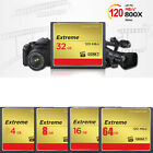 4G 8GB 16G 32G 64G Genuine Flash Memory CF Card FOR Camera Extreme 120MB/s