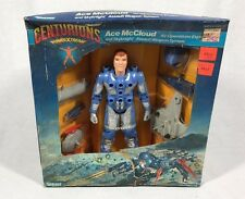 "1986 KENNER CENTURIONS ""ACE McCLOUD""  NEW UNUSED! Kenner Box Damage"