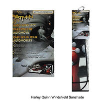 New DC Comics Harley Quinn Car Truck Windshield Folding Sun Shade Large Size