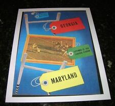 1950 GEORGIA BULLDOGS vs MARYLAND TERRAPINS NCAA Football Progam COVER ART ONLY
