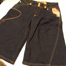 nwt Apple Bottom Womens dark blue jeans shorts sz 10