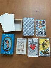 Rider Tarot Cards Pamela Coleman Smith Complete AG Muller AE Waite Blue Box RARE