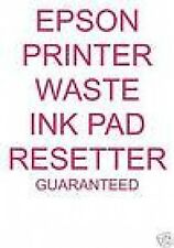 EPSON STYLUS PHOTO R200 R210 MULTI USE WASTE INK PADS  RESET FAULT REPAIR CD