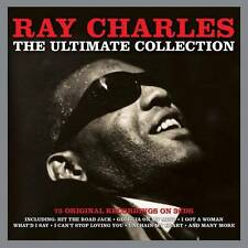 RAY CHARLES THE ULTIMATE COLLECTION -75 ORIGINALS RECORDINGS (NEW SEALED 3CD)