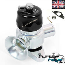 SUBARU IMPREZA WRX MY08-15 fit DUAL PORT ADJUSTABLE BOV BLOW OFF DUMP VALVE BLAC