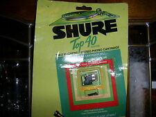 SHURE TOP 40 T40-3 MAGNETIC AUDIOPHILE STEREO CARTRIDGE STYLUS NEEDLE OLD STOCK
