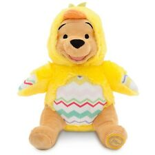WINNIE THE POOH EASTER PLUSH IN CHICK COSTUME DISNEY STORE PATCH ON FOOT