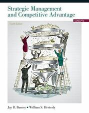 Strategic Management And Competitive Advantage Concepts 5Th Ed. Int'L Edition