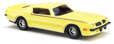 Busch 41709 Pontiac Firebird TranAm Gelb, H0 Fahrzeug Fertigmodell 1:87