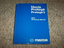 2003 Mazda Protege 5 Factory Workshop Shop Service Repair Manual DX LX ES 2.0L