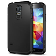 STEALTH BLACK TOUGH ARMOUR CASE SHOCK LIFE PROOF SAMSUNG GALAXY S5 LIKE SPIGEN
