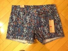 womens Levi's Shorts, Blue Print, Size 10 Short, Brand New With Tags