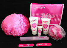 Pineapple Brand body lotion shower gel hand cream 4 free gifts +  makeup bag