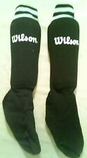 Black Youth Soccer Shin Guards/Socks