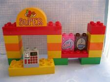 Duplos Legoville 6137 My First Supermarket Grocery Store Counter Soap Coffee Lot
