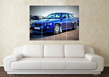 Grandi FORD ESCORT RS COSWORTH TURBO CVH YB S1 S2 WALL POSTER Arte Foto Stampa