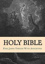 Holy Bible : King James Version with Apocrypha by Derek Shaver (2012, Paperback)