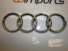 Audi A1 A2 A3 A4 A5 A6 A8 TT S4 S5 Q5 Chrome Rear Trunk Emblem Badge Logo