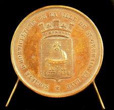 Medaille Société d'horticulture de Saint Germain en Laye 1860 à Busigny medal