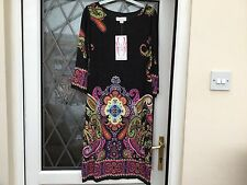 Ronni Nicole..O.So.Slim Paisley Print Dress Size 8