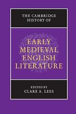 Book The Cambridge History of Early Medieval Middle English Literature Hardcover