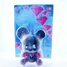 "Toy2r 3"" Key Chain Qee Series Yatoy Joet Nasty Baby Bear Devil Kidrobot"
