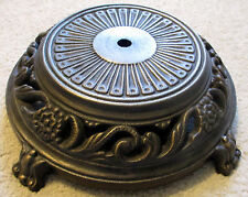 "12"" Diameter Cast Iron/Steel Base.  Rough Antique looking casting & finish.  NOS"
