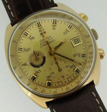 Omega Seamaster Automatic Gold Tone 2-Register Chronograph Cal. 1040 176.007