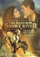 The Man from Snowy River (DVD, 2004)-Tom Burlinson-Jack Thompson-Kirk Douglas