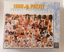 Dog jigsaw puzzle Puppy Party dalmatian alsatian spaniel terrier new DAMAGED BOX