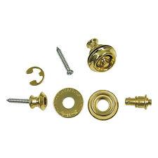 Dunlop SLS1032BR Dual Design Straplok Guitar Strap Lock Retainer System Brass