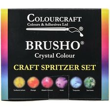 Colorfin Brusho Crystal Colours Craft Spritzer Set - 514812
