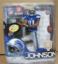 "Mcfarlane Calvin JOHNSON (6""inch) ROOKIE figure NFL Lions new"