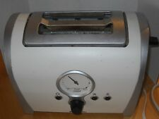 Vtg Russell Hobbs Model Rht2ret Toaster White And Silver art deco
