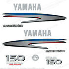 Yamaha Outboard Motor Decal Kit 150 hp 4 Stroke Kit - Marine Grade Decals