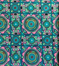 Free Spirt Amy Butler Dreamweaver - Mantra - Color-Teal New Full Bolt - 15 Yards