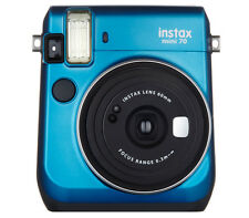 Fujifilm Instax Mini 70 mini Instant Color Film Camera - Blue