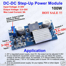 100W DC-DC Boost Step Up Converter 3V-35V 12V to 3.5V-35V 9A Power Supply Module