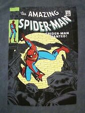 The Amazing Spiderman Spider Man Wanted Marvel Comics Books T Shirt XL
