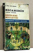 DECAMERON - G.Boccaccio [libro, gherardo casini editore, vol.secondo]