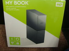 WESTERN DIGITAL MY BOOK 6TB WDBBGB0060HBK-NA NEW NO RESERVE!!!!