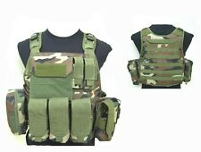 New Wargame Paintball Airsoft Replica Tactical Assault CMS Vest FREE SHIPPING