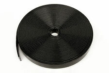 PVC  Webbing - 10m  x  25mm Black