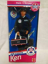 Barbie Doll 1993 Air Force Thunderbirds Ken 11554 Sky's The Limit Sealed