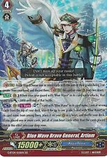 CARDFIGHT VANGUARD CARD: BLUE WAVE BRAVE GENERAL, ARTIOM - G-BT09/020EN RR