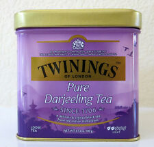 Twinings of London Pure Darjeeling Loose Tea Tin - 3.53oz (100g) Quality ///