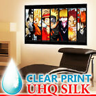 Naruto One Piece Dragon Ball Z Anime Art SILK BIG POSTER 24x36